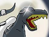 Робот динозавр трансформер
