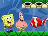 Губка Боб и Патрик любят рыбалку