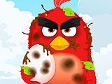 Angry birds: Ред спасает яйцо