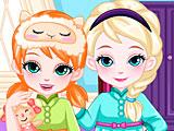 Холодное сердце: Эльзе и Анне пора спать