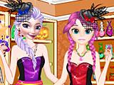 Холодное сердце: Эльза и Анна в магазине монстров