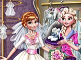 Холодное сердце: Эльза готовится к свадьбе Анне