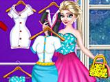 Одевалки Эльза