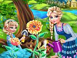 Холодное сердце: Эльза и дочь садовник