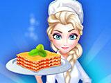 Ресторан Эльзы Холодное сердце: рецепт лазаньи