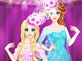 Холодное сердце: королевский бал Эльзы и Анны