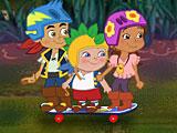 Джейк и Пираты Нетландии: побег на скейте