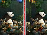 Кунг-фу Панда 6: найди отличия