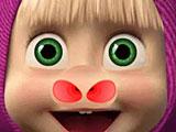 Маша лечит нос