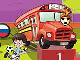 Парковка автобуса: футбол евро