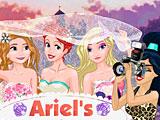 Принцессы Диснея: свадебная фотосессия Ариэль