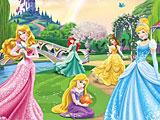 Принцессы Диснея: находить объекты