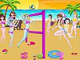 Принцессы Диснея против Монстр Хай: волейбол