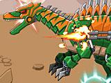 Война игрушек: робот Спинозавр