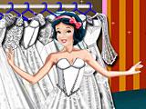 Белоснежка: свадебное платье