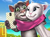 Том и Анжела: время селфи