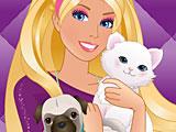 Барби салон животных