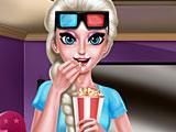 Холодное сердце: Эльза смотрит кино