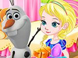 Холодное сердце: сладкая забава Эльзы и Олафа