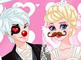 Холодное сердце: свадебное фото Эльзы и Джека