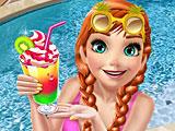 Холодное сердце: Анна в бассейне