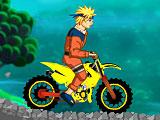 Гонки Наруто на мотоцикле