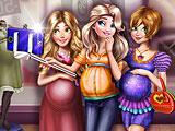 Селфи беременных принцесс Дисней