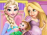 Принцессы Диснея украшают комнату ребенка
