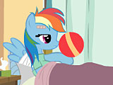 Мяч пони