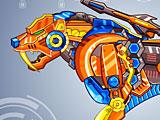 Собирать роботов: робот тигр