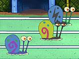 Губка Боб: гонки улиток