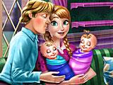 Холодное сердце: малыши близнецы Анны