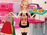 Барби: мода официантки