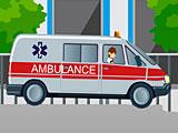Бен 10: гонки на машине скорой помощи