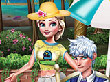 Холодное сердце: Эльза и Джек на пикнике