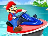 Марио гонки на воде