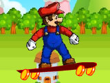 Марио гонки на скейтборде