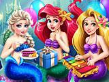 Принцессы Диснея: день рождения Ариэль