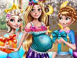 Принцессы Диснея: вечеринка для беременной