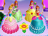Торт принцессы Диснея