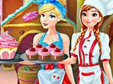 Принцессы Диснея: Анна и Золушка на кондитерской фабрике