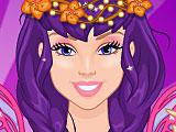 Барби цветочная фея