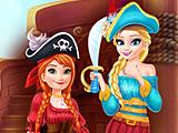 Холодное сердце: Эльза и Анна пираты