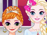 Холодное сердце: макияж Эльзы и Анны