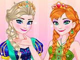Холодное сердце: королевский прием Эльзы и Анны
