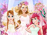 Принцессы Диснея: свадебное платье Барби