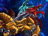 Роботы динозавры: Гандом и Дракон