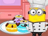 Миньоны: макароны десерт