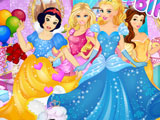 Принцессы Диснея: день рождения Золушки