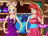 Шкаф принцесс Диснея